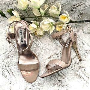 Steve Madden Daarlah Blush Patten leather sandal